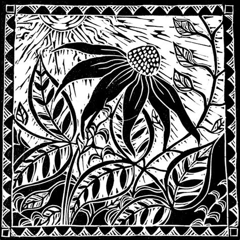 Timeless Design kerry tremlett black amp white relief prints simply beautiful