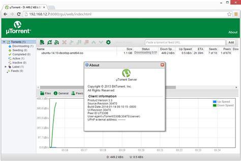 install torrent utorrent on ubuntu 14 04 install μtorrent utorrent on ubuntu 14 10