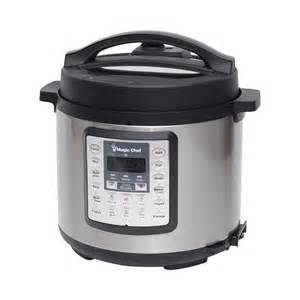 Magic chef 6 qt 7 in 1 multi cooker in stainless steel mcsmc10s7
