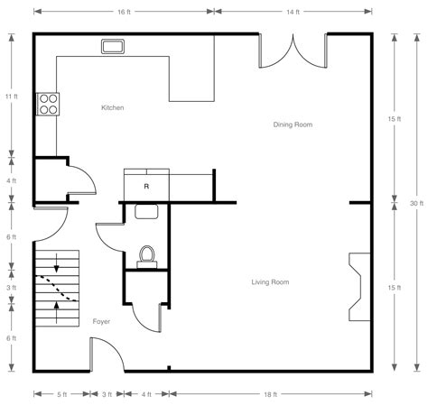 draw floor plan to scale how to draw a house floor plan scale