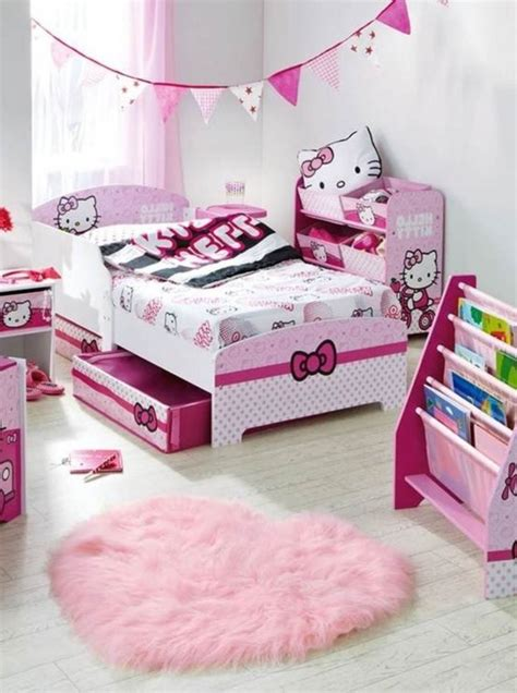 kitty girl bedroom decorating ideas  lovekidszone