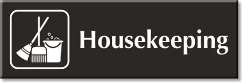 house keeping housekeeping signs housekeeping door signs