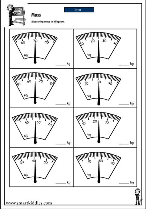 Measuring Mass Worksheet by Measuring In Kilograms Mathematics Skills