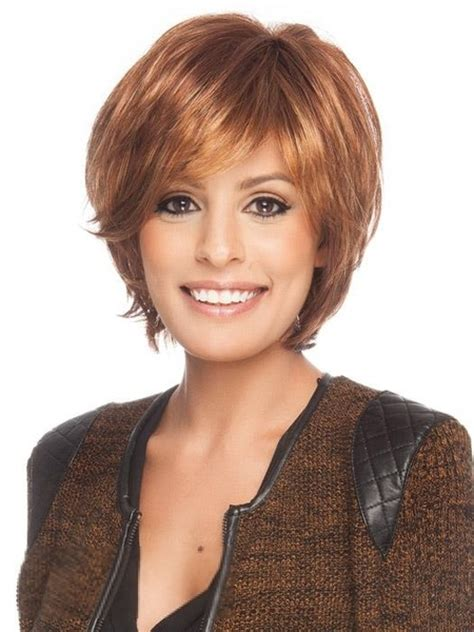 hair colours for middle aged womaen boy cut hairstyle for middle age women human hair wigs 8