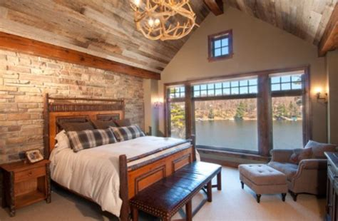 bedroom design wood stylish decors featuring warm rustic beautiful wood ceilings