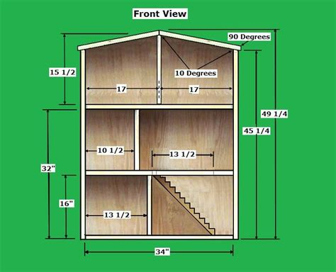 barbie house instructions crafts doll house plans