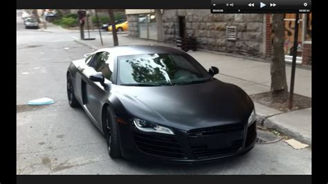 matte black audi   montreal youtube