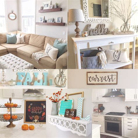 5 ways to add fall decor to your home light