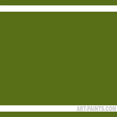 army green predispersed ink paints 25 pack army