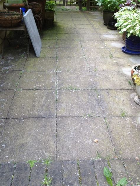 Cleaning Concrete Patio Slabs by Paving Pressure Washing And Cleaning Vancouver