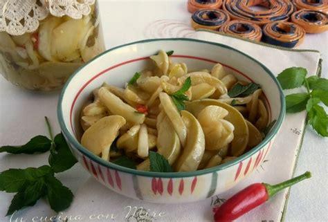 cosa cucinare con le zucchine zucchine sottolio ricetta originale calabrese le mie