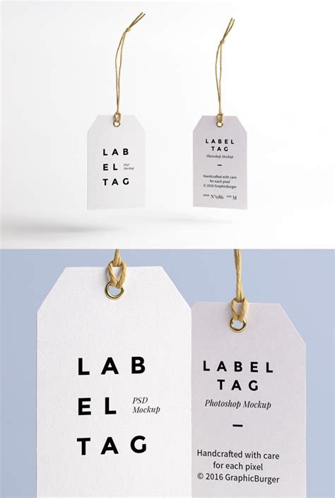 name tag template psd label tag psd mockup graphicburger