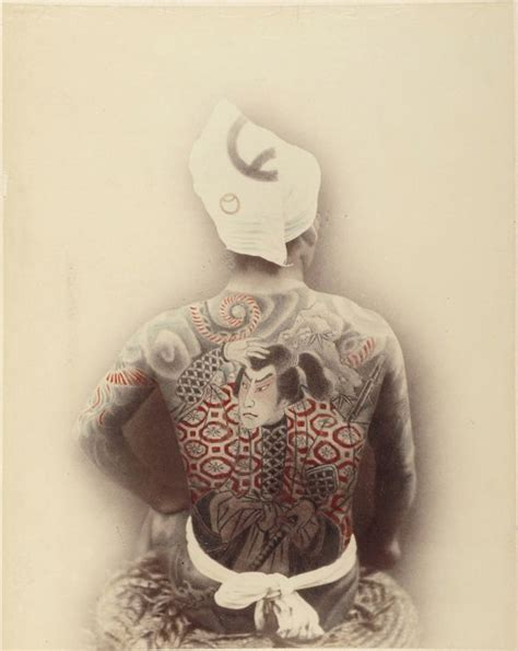 yakuza tattoo skin museum 956 best images about ethnographic photos of old japan on