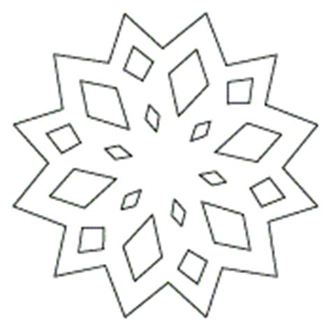 best photos of snowflake templates to cut out small snowflake patterns to print all printables snowflake