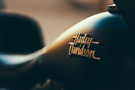 Black, harley, davidson, moto, motor, design, dark, gold