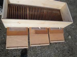 Build A Top Bar Hive by Top Bar Hive How To Make A Langpohl Top Bar Hive Its The Bees Knees