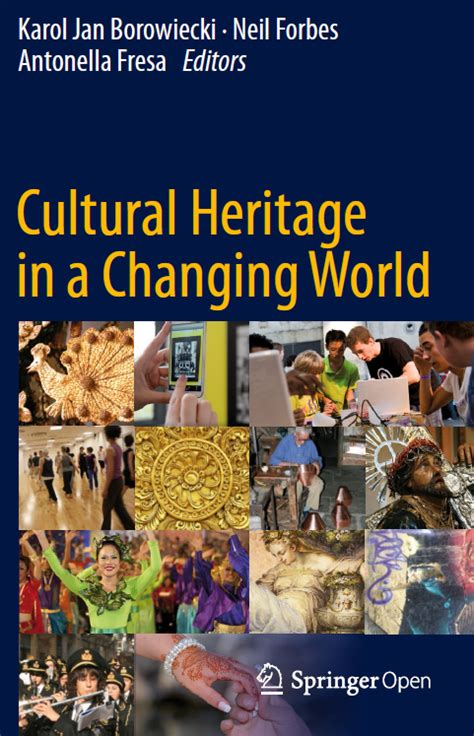 a world of culture and golf books cultural heritage in a changing world the riches book