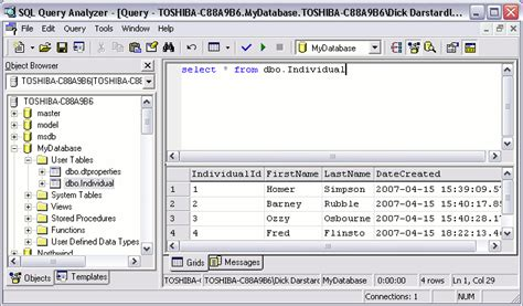 sql query exles tutorial sql server sql query analyzer