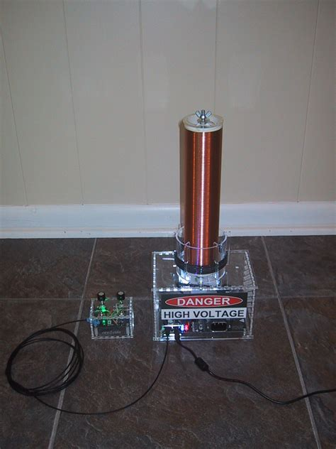 Tesla Coil Kit Onetesla Kit Review And Build Comments S Technical Talk