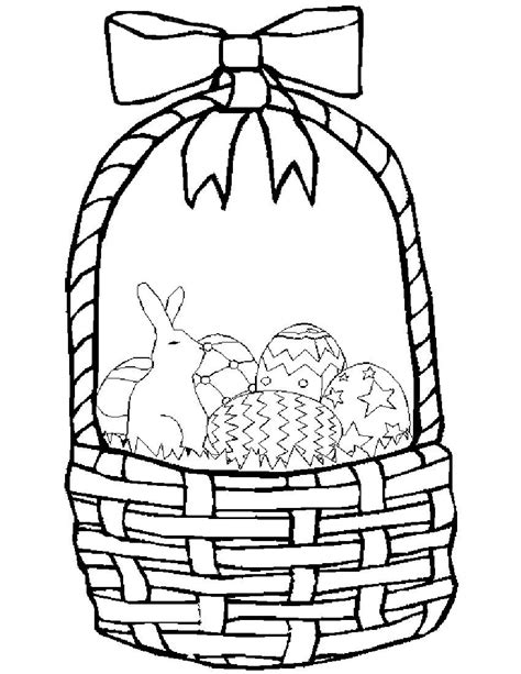 coloring pages for easter basket easter pages to color coloring pages part 2