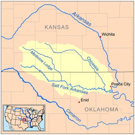 united states map arkansas river medicine lodge river