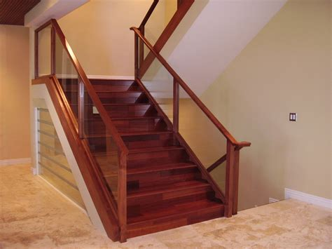 Wood And Glass Banister by Method Doors Gates Nuys Ca 91406 Angies List