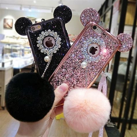 Mickey Bling Back Cover For Iphone 6 Plus 6s Plus 511 best phone accesories images on iphone