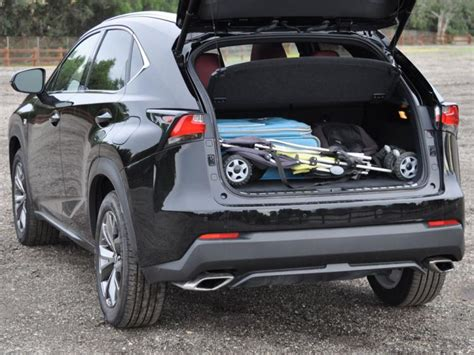 lexus nx 2018 trunk space review 2015 lexus nx 200t f sport ny daily news
