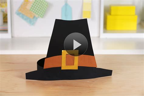 How To Make A Pilgrim Hat Out Of Paper - best photos of pilgram hat pieces how to make a