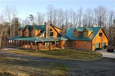 Sandusky Home Interiors Cedar Log Homes 187 Custom Homes