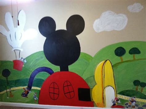 Mickey Mouse Clubhouse Room by Mickey Mouse Clubhouse Playroom Wall Playroom Ideas