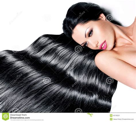 dark haired beautiful women modeling clothes beautiful woman with long black hair stock photo image