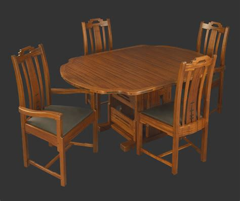 gamble style dining table darrell peart furnituremaker