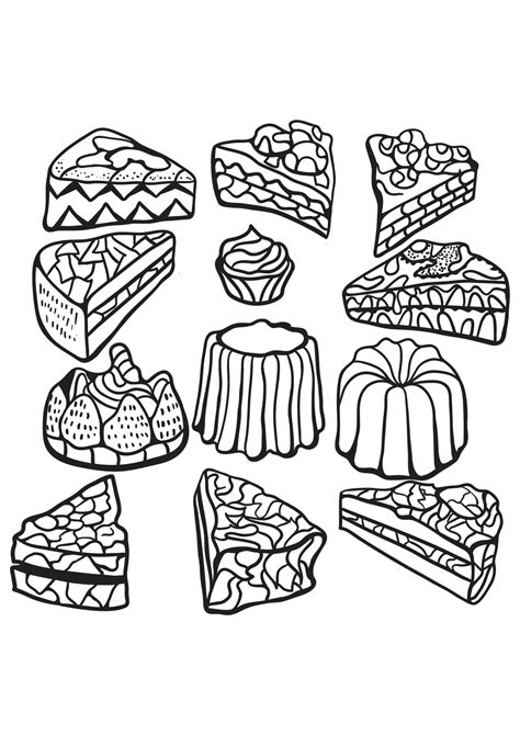 food coloring pages  adults
