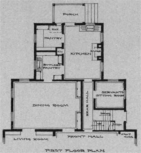 Kitchen With Butlers Pantry Plan by Rooms Part 4