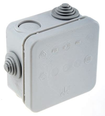 Junction Box 88x88x47mm Ip55 320 970 01 pp ip55 junction box 75 x 75 x 42mm spelsberg