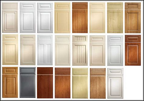 kitchen cabinet door styles and shapes to select home