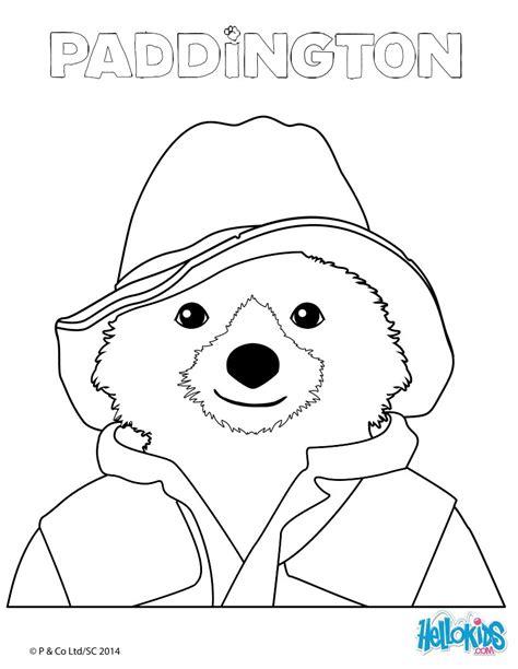 paddington coloring pages hellokids com