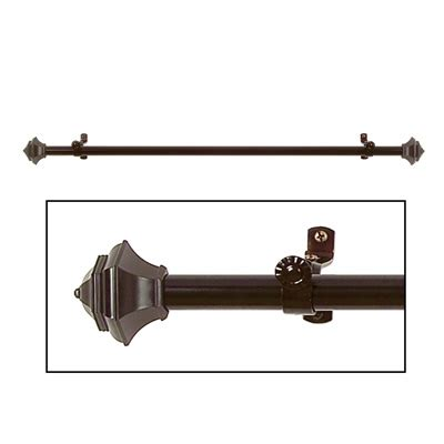 antique bronze curtain rods jordan antique bronze curtain rod set from collections etc