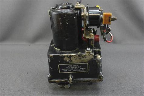 mercruiser pre alpha   power trim tilt pump motor reservoir singl nla marine