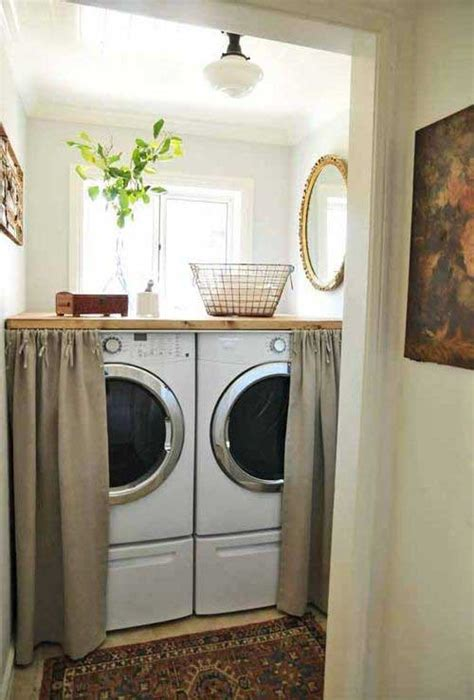 ideas  hide  laundry room