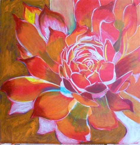 acrylic painting lessons flowers 40 artistic acrylic painting ideas for beginners