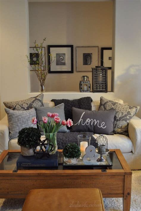 cozy home decor living room table accessories modern house