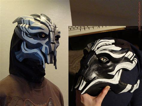 n7 tattoo turian masks and by nightlyre deviantart