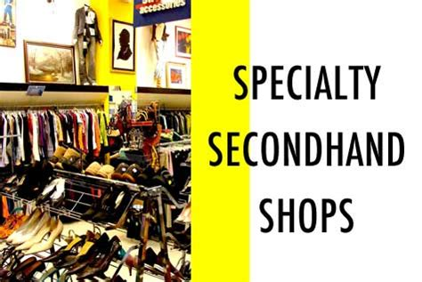 speciality shop goodwill specialty secondhand shops shoestring