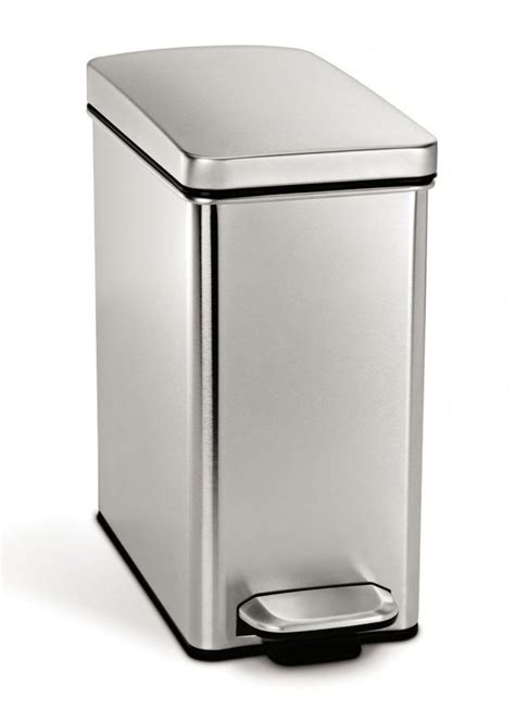 simplehuman bathroom bin simplehuman stainless steel pedal touch bar waste bins