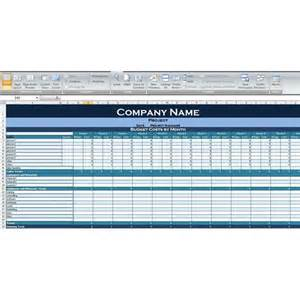 Project Management Budget Template Project Management Budget Tracking Excel Template
