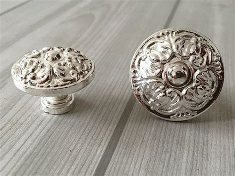Silver Knobs For Dresser silver knobs cabinet knob dresser knobs pull drawer knobs