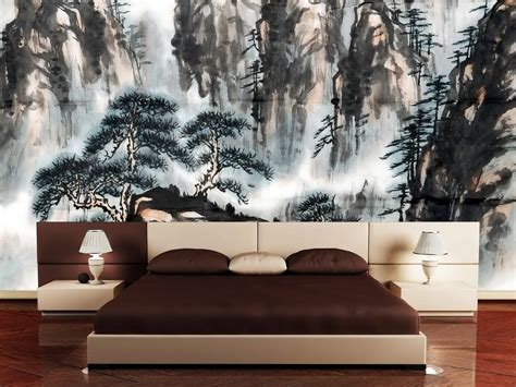 japanese bedroom wallpaper trendy interior for asian bedroom decor in contemporary