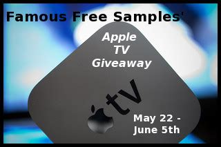 Free Tv Sweepstakes - for bloggers apple tv giveaway